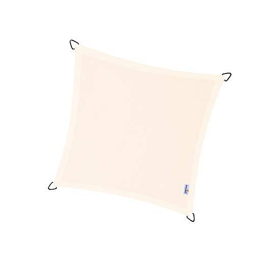 nesling Dreamsail Wasserabweisende sonnensegel (Quadrat 5,0m x 5,0m x 5,0m x 5,0m, Creme)