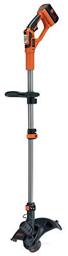 Black+Decker Akku-Rasentrimmer (36V 2,0Ah, Schnittbreite 30 cm, E-Drive Technologie,...