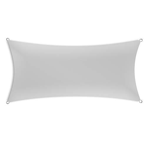 Schramm® Sonnensegel rechteckig in 4 verschiedenen Größen und 2 Farben Sonnen Segel Sonnenschutz...
