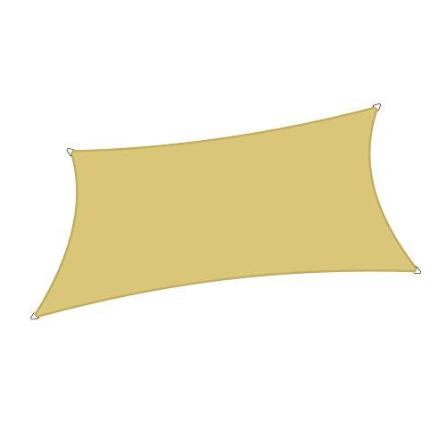 Alion Home Sonnensegel, strapazierfähig, wasserfest, UV-Schutz, für Terrassenmöbel, Pool oder...