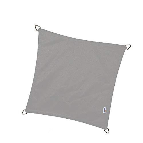 Nesling Sonnensegel Dreamsail grau wasserdicht eckig 5x5m