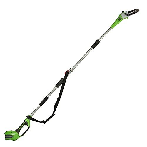 Greenworks Akku-Hochentaster G40PS20 (Li-Ion 40V 20cm Schwertlänge 8 m/s Kettengeschwindigkeit...
