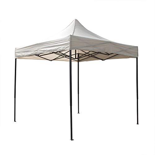 AIRWAVE Essential Pop-Up-Pavillon, ohne Seiten, 3 x 3 m, Beige