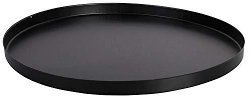 Esschert Design Bodenplatte, Bodenschutz für Feuerkorb oder Feuerstellen, rund, Ø ca. 50 cm