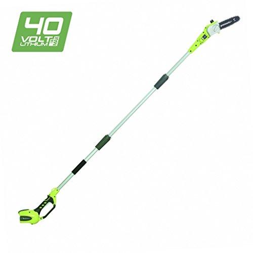 Greenworks 40V Akku-Hochentaster/Astschere 20cm, anpassbare Länge (ohne Akku und Ladegerät) -...