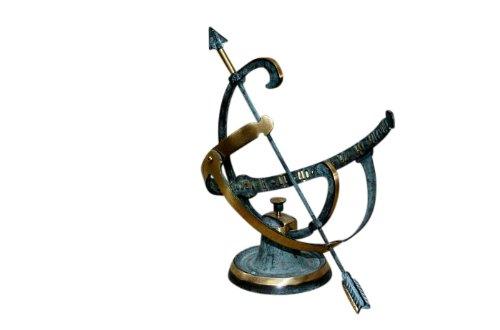 Steinfiguren Horn Bronze Sonnenuhr