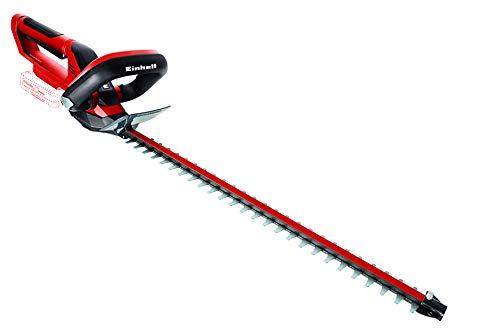 Einhell 3410910 GE-CH 18/50 Li-Solo Akku-Heckenschere, schwarz/rot