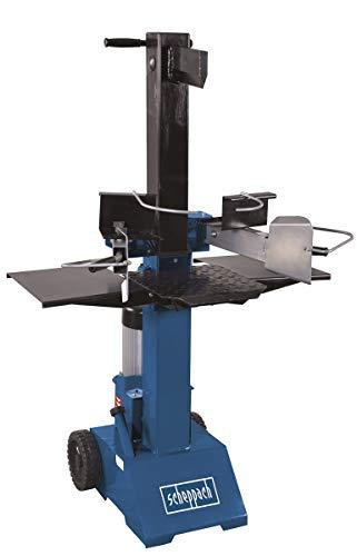Scheppach HL810 Hydraulikspalter Holzspalter bis 550 mm | 8 Tonnen Spaltkraft 8t | Brennholzspalter...