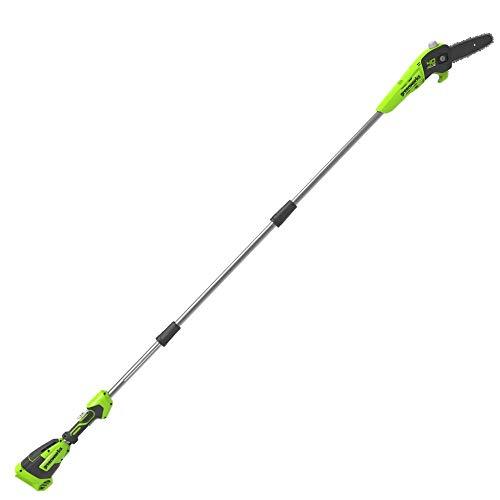 Greenworks Akku-Hochentaster G40PSF (Li-Ion 40V 20cm Schwertlänge 8 m/s Kettengeschwindigkeit...