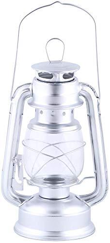 Rivanto® Windlicht Laterne aus Metall/Glas, 15 x 11,5 x 24 cm, mit Transportbügel und...