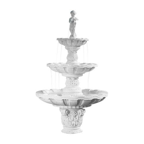 fantasieco! Stoneland Brunnen Sirmione - Terracotta
