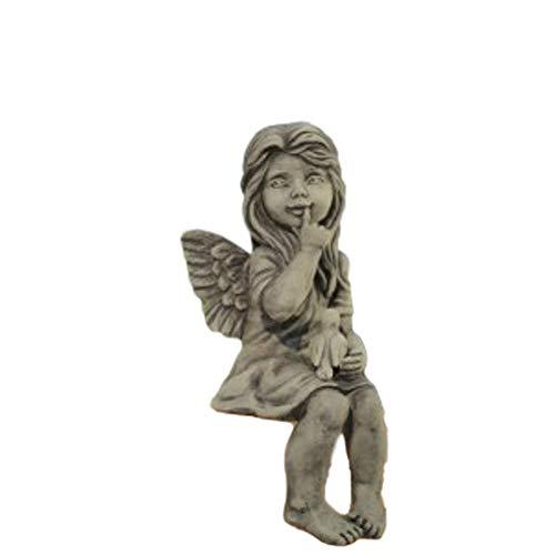 Steinfiguren Horn Engel Dara