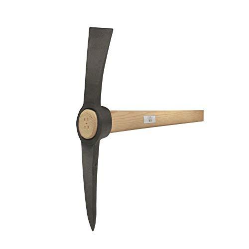 Idealspaten 38011500 Kreuzhacke mit ovales Auge 1,5kg, Grau, 40 x 25 x 15 cm