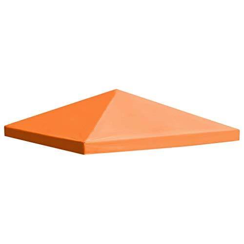 Tidyard Pavillon Ersatzdach Pavillondach 310 g/m² 3x3 m Dach PVC Wasserdicht Pavillonabdeckung für...