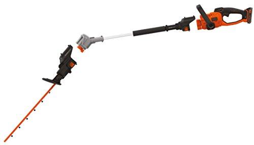 Black & Decker SeasonMaster 4-in-1 Akku-Heckenscheren / Kettensägen Kombi-Set (18V, bestehend aus...