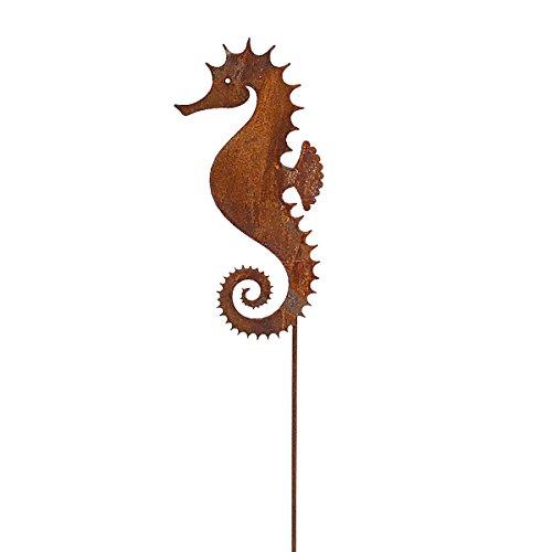 Saremo 440s.de Rost Seepferdchen, ca. 22 cm H, auf Stab   SA-SeePfS21   4260553561038