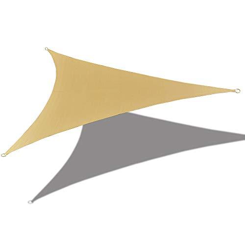 ALION Home 16'12,7cm X 16' 12,7cm X 16'12,7cm Triangle Wasserdicht Woven Sun Segel in...