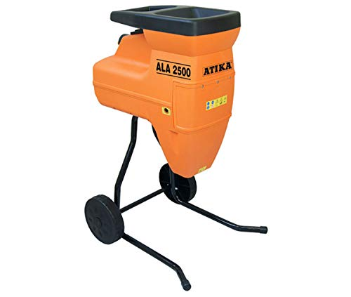 ATIKA ALA 2500 Gartenhäcksler Walzenhäcksler Elektrohäcksler Schredder | 230V | 2500W