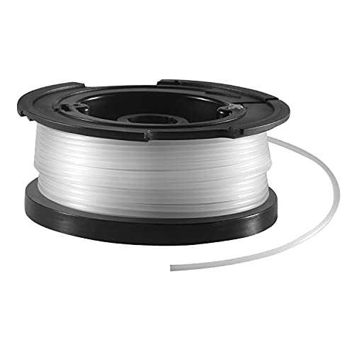 Black+Decker vollautomatische Einzelfadenspule (für Rasentrimmer 10 m Länge, 1,5 mm...