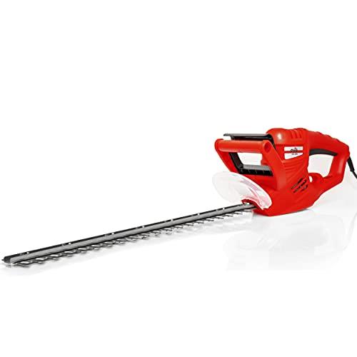 Grizzly Tools Elektro-Heckenschere (600 W Motorleistung, 550 mm Schnittlänge, 16 mm Messerabstand,...