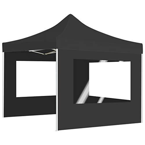 Festnight- Profi-Partyzelt Faltbar mit Wänden and Klappbarem Design Wasserabweisend Pavillon...