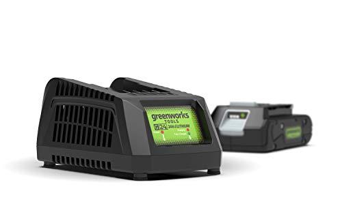 Greenworks Tools Akku-Schnellladegerät G24UC (Li-Ion 24 V 60W Output passend für alle Akkus der 24...