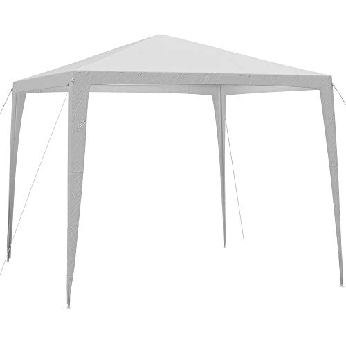 Deuba Pavillon 3x3m wasserabweichend Dachbespannung Festzelt UV-Schutz 50+ Stecksystem Festival...