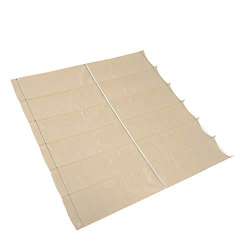 nesling Coolfit Faltsonnensegel (B 2,9m x L 4,0m, Off White) Sonnenschutz, Wasser und Wind...