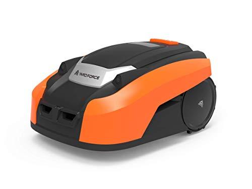 YARD FORCE Mähroboter X50i bis zu 500 qm-Selbstfahrender Rasenmäher Roboter mit WLAN-Verbindung,...
