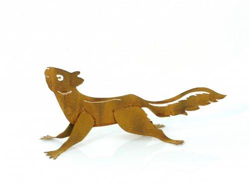 KUHEIGA Gartenstecker L: 45cm Eichhörnchen Eichhörnchenstecker Gartenfigur