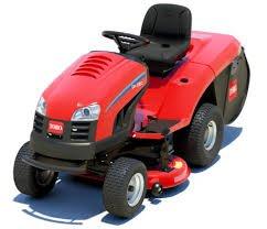 Toro DH220 HECK-sammle Garden Traktor-Rasenmäher mit Recycle On Demand, bunt, einfache Greifen.