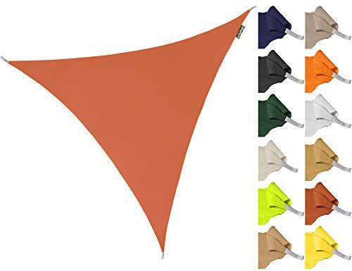 Kookaburra Sonnensegel Wasserabweisend 3,0m Dreieck Terrakotta