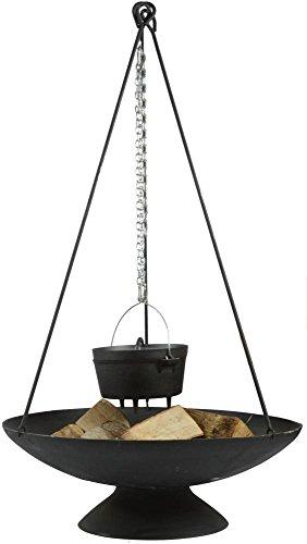Esschert Design Dreibein für Feuerschale, aus Eisen, 6 x 5 x 118 cm, Feuerschalen Zubehör,...