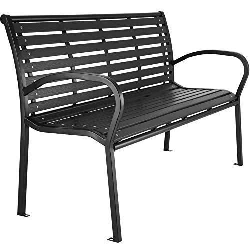 TecTake 403213 Premium Gartenbank, 3-Sitzer, Hips Sitzbank, widerstandsfähig, bis 200 kg belastbar,...