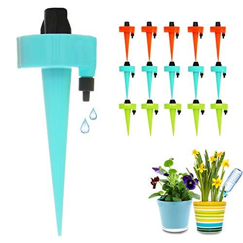 FRECOO Automatisch Bewässerung Set, Pflanzen Bewässerungssystem mit Einstellbar, Pflanzen Blumen...