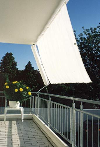 Floracord Sonnensegel Klarsicht Universal-Set-Senkrecht 230 x 140 cm, farblich sortiert