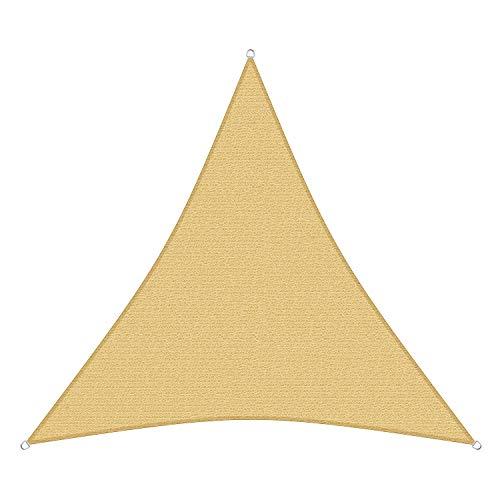 sunprotect 83494 Professional Sonnensegel, 2,5 x 2,5 x 2,5 m, Dreieck, Wind- & wasserdurchlässig,...