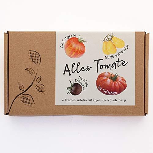 ALLES TOMATE Gemüsesamen-Geschenkbox