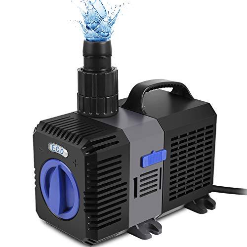 Forever Speed Super ECO Teichpumpe Filterpumpe Energiespar Wasserpumpe Koiteich Bachlaufpumpe...