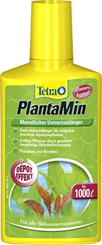 Tetra PlantaMin Universaldünger (flüssiger Eisen-Intensivdünger für prächtige und gesunde...