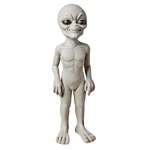 Design Toscano Halloween Die out-of-this-world Alien Extra Terrestrial Statue, Stein, gebrochenes...