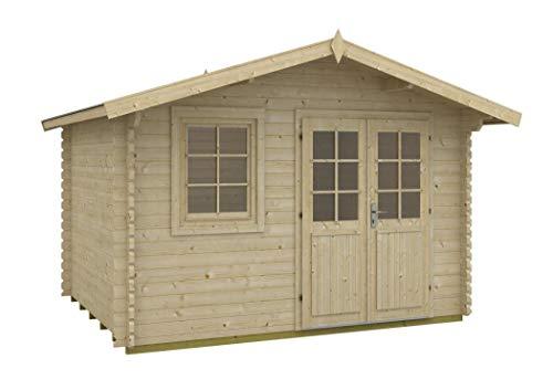Tene Kaubandus Gartenhaus MATTI 40 ISO Blockhaus 360x300cm 40mm Holzhaus