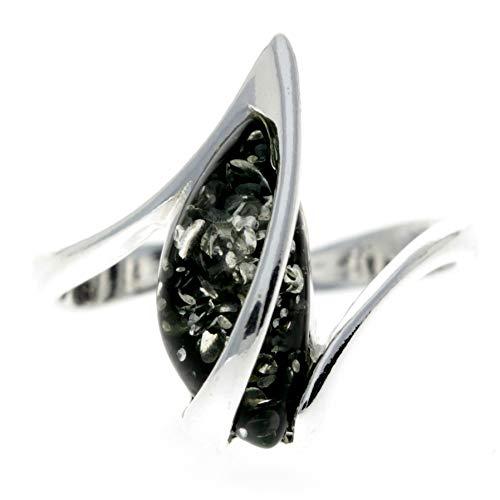 SilverAmber Jewellery UK - Sterling-Silber 925 Green Bernstein