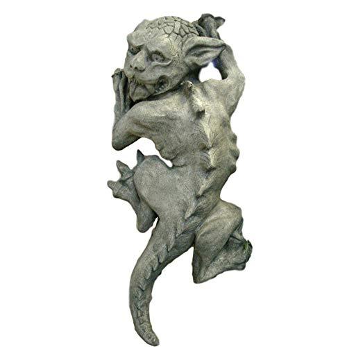 Steinfiguren Horn Gargoyle zum Aufhängen an der Wand