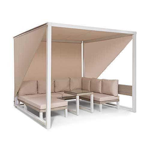 blumfeldt Havanna - Pavillon & Lounge-Set, Gazebo Gartenpavillon, Lounge-Set: 4 Zweisitzer +...