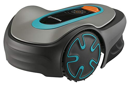 Gardena Sileno Minimo 250 | Rasenmäher Roboter, bis zu 250 m² - Mäht bei Regen und Enge...