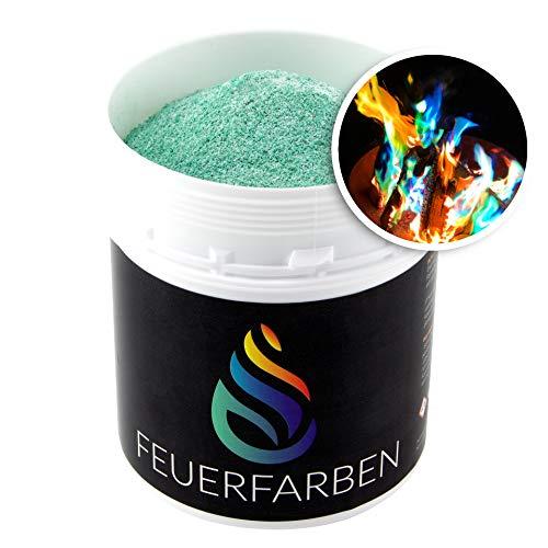 Feuerfarben Pulver für buntes Feuer 250 Gramm für Feuerstellen, Kamin, Ofen, Lagerfeuer oder für...