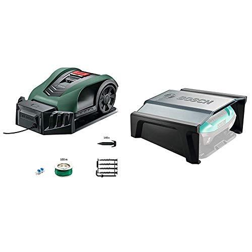 Bosch Mähroboter Indego 350 Connect (mit App-Funktion, 19 cm Schnittbreite, Rasenfläche, bis zu...