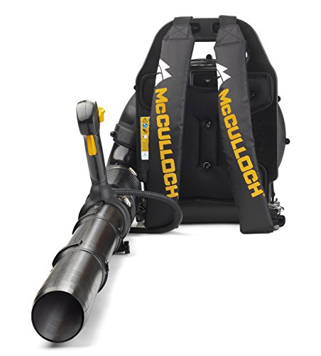 McCulloch Rücken-Laubbläser GB 355 BP, Gartensauger-/Bläser mit 1500 W Motorleistung, variable...