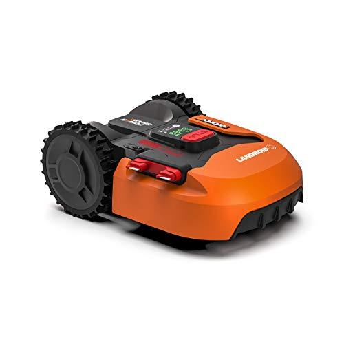 Worx Landroid S WR130E Mähroboter/Akkurasenmäher für kleine Gärten bis 300 qm/Selbstfahrender...